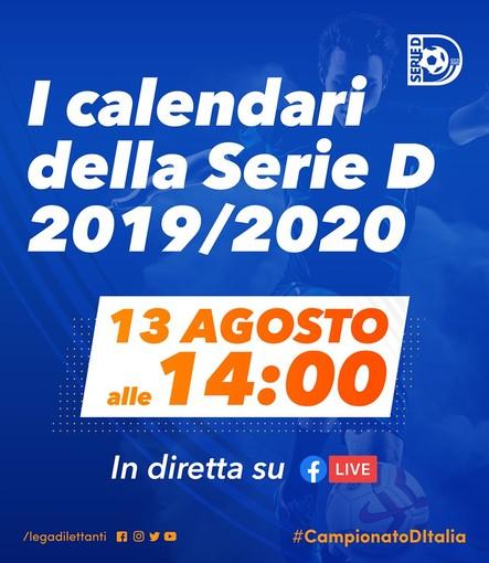 Calcio, Serie D. La cerimonia dei calendari LIVE: si parte domenica 1 settembre