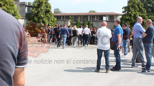I funerali di Raffaello Bucci