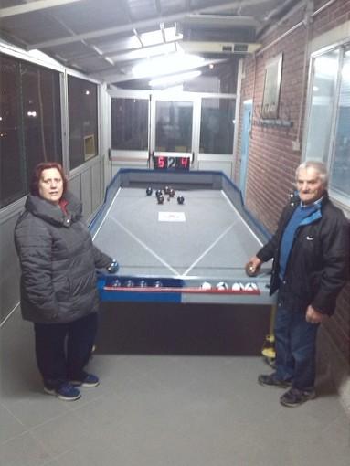 Nasce a Grugliasco il brevetto di un tavolo che permetterà ai disabili di giocare a bocce