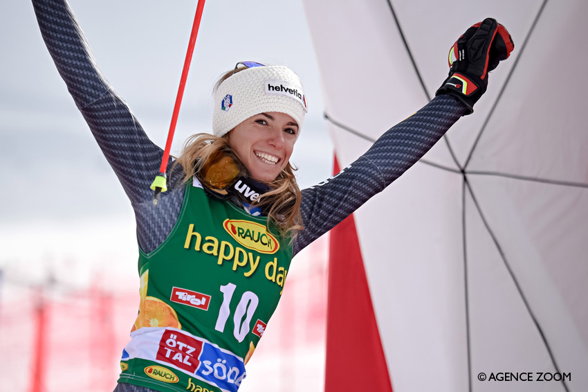 Sci, slalom donne a Lienz: Shiffrin implacabile, 15ªCurtoni