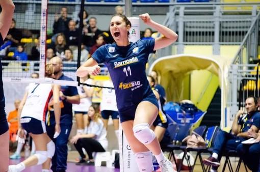 Prima sconfitta casalinga per il Barricalla Cus Torino Volley
