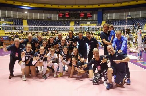 Barricalla Cus Torino Volley: vittoria all'esordio al Pala Ruffini su Baronissi