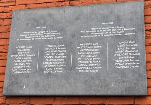 La tragedia dell'Heysel 35 anni dopo, il Comune di Grugliasco ricorderanno le vittime al giardino a loro intitolato
