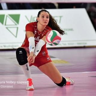 Chiara Pinto al Barricalla Cus Torino Volley