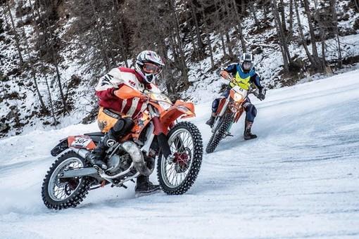 Rinasce l'Ice Trophy: tre gare in moto sul ghiaccio, una a Pragelato