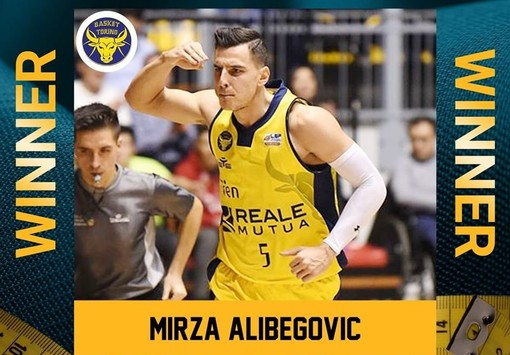 Mirza Alibegovic è stato votato quale Most Valuable Player  di gennaio del Girone Ovest di A2 Old Wild West