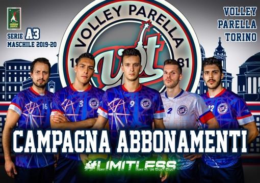 Iniziata la campagna abbonamenti del Volley Parella Torino