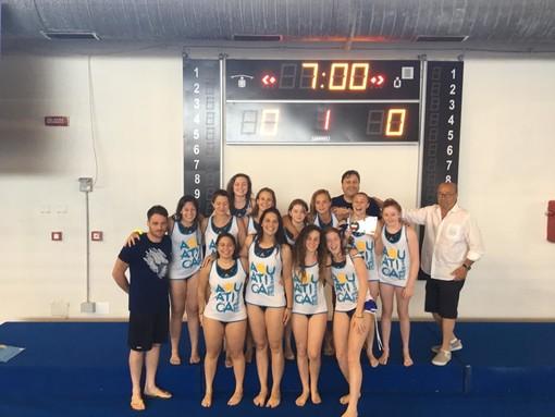Pallanuoto, l'Aquatica Torino vola in serie A2 femminile