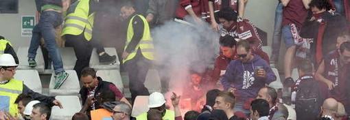 Bomba carta esplosa durante il derby, definitiva la condanna per Giorgio Saurgnani