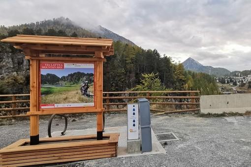 Unione Montana Comuni Olimpici Via Lattea: installate 12 colonnine di ricarica per e-Bike