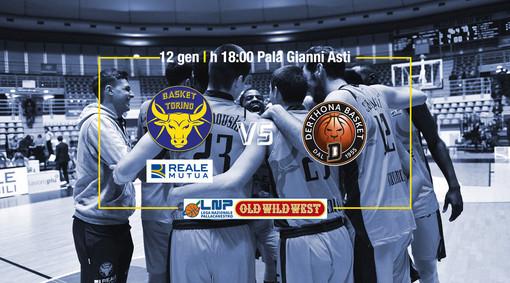 Reale Mutua Basket Torino: per il quarto atto della sfida con Derthona biglietteria aperta anche domanica mattina