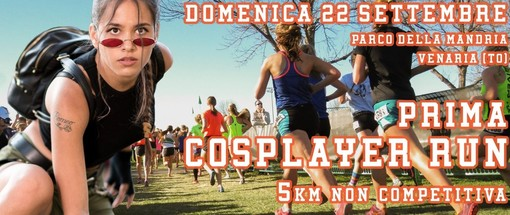 La Mandria, domenica 22 settembre si corre la 1^ Cosplayer Run: sport e beneficenza per un evento unico
