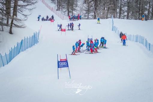 Torino, premiazione del Campionato Piemontese Bravo PL3 2018 di sci alpino