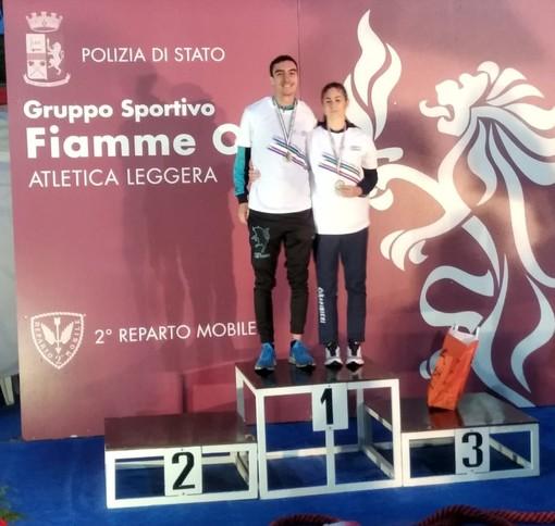 Dario De Caro e Michela Cesarò sul podio