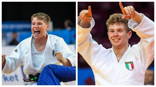 I torinesi Vincenzo Skenderi  ed Erica Simonetti sono Campioni Europei di judo