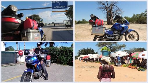Dopo mille peripezie, Franco Ballatore è giunto in Angola