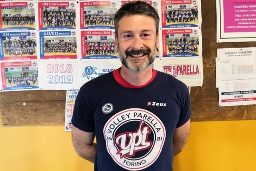 Il nuovo tecnico del Parella Volley Femminile sarà Francesco Mussa