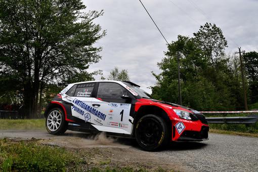 Patrick Gagliasso e Dario Beltramo vinconcono in Rally Team 971