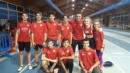 L'Avis Atletica Ivrea in grande spolvero ai Campionati piemontesi individuali e CDS Cadette/i Indoor di Aosta