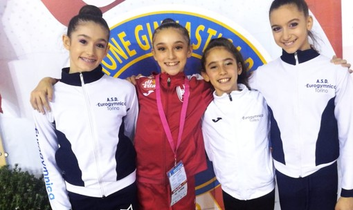 Ai nazionali Gold Allieve, l'Eurogymnica Torino mette le basi per il futuro