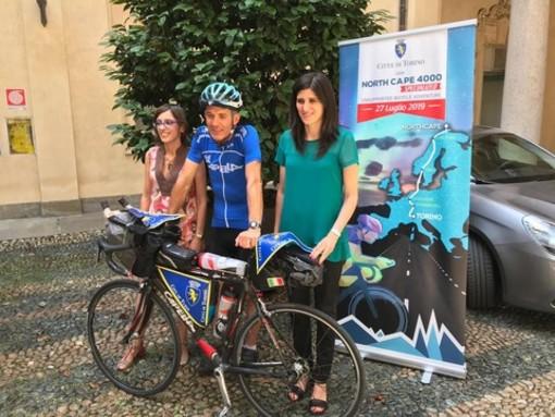 Da Torino a Capo Nord in bicicletta: il dipendente comunale tenta l'impresa su due ruote