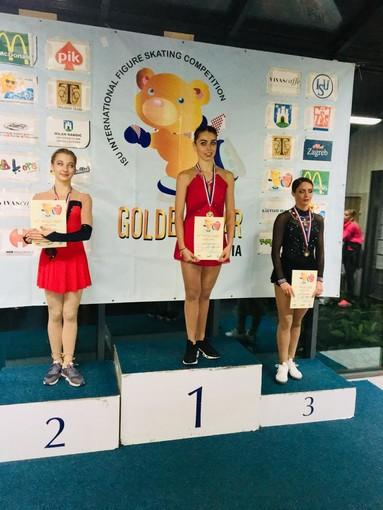 Golden Bear di Zagabria: Alessia Tornaghi è oro nella competizione internazionale