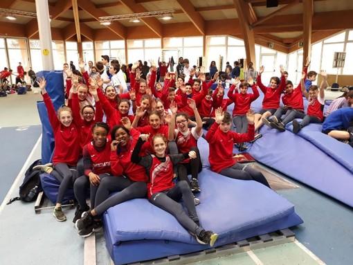 La squadre Safatletica ad Aosta