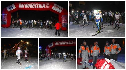"""Bardonecchia, """"Memorial Sergio Bompard"""": Corinne Faure e Gabriele Ageron i vincitori della cronoscalata di sci alpino"""