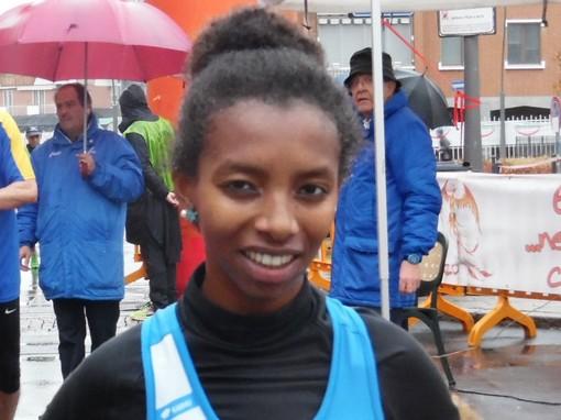 Netta vittoria di Mastewal Ghisio alla  Karneval Run di Biella