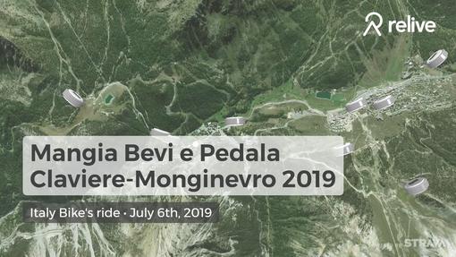 """""""Mangia, Bevi e Pedala"""" Claviere-Monginevro 2019: una giornata di sport, enogastronomia e territorio"""
