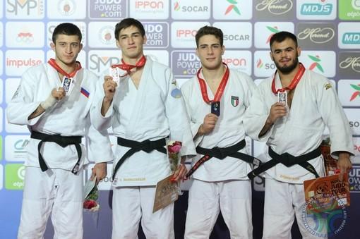 Il torinese Edoardo Mella è medaglia di bronzo ai mondiali di Judo di Marrakech