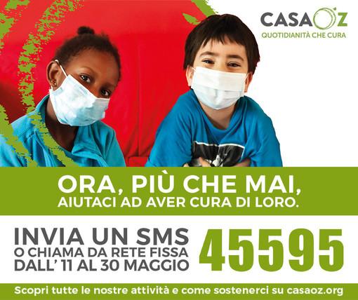 """La Reale Mutua Basket Torino al fianco di CasaOz per la campagna """"Ora, più che mai"""""""
