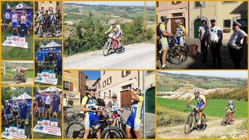 Più forti della sfortuna: i ciclisti del Gruppo Sportivo Polizia Municipale di Torino sono vice Campioni Italiani di mountain bike (Foto)