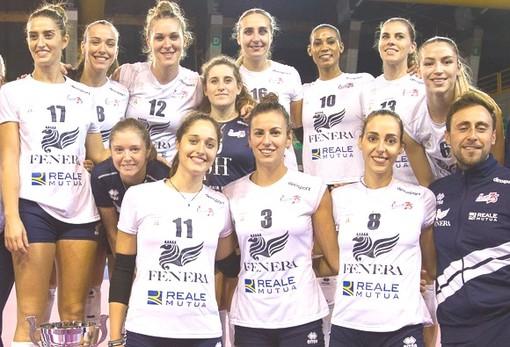 Nasce una nuova partnership tra Reale Mutua ed il Volley Femminile Chieri '76