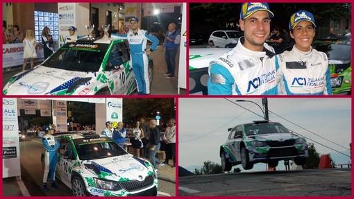 Giorgio Bernardi un Rally Città di Torino al top (ten)