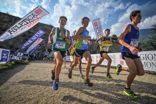 Susa, si corre la 14th International U18 Mountain Running Cup manifestazione internazionale di corsa in montagna
