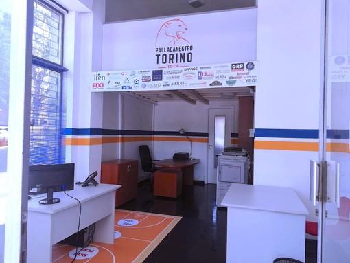 L'Iren Fixi Pallacanestro Torino ha una nuova sede societaria