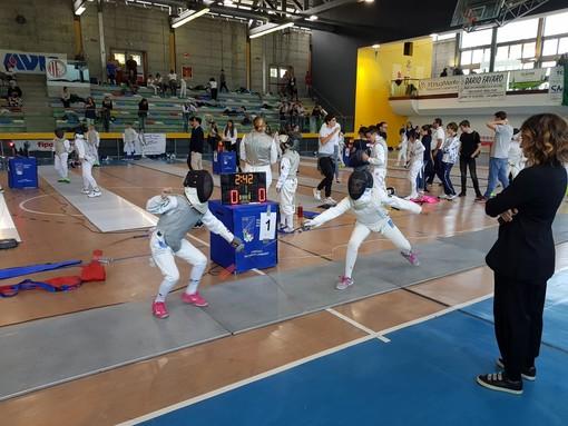 Circolo della Scherma Ramon Fonst di Torino, buone prestazioni in tutte le categorie nel Trofeo di Carnago