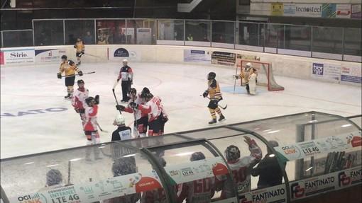 Valpe Hockey: a Varese fatali gli ultimi 12 minuti