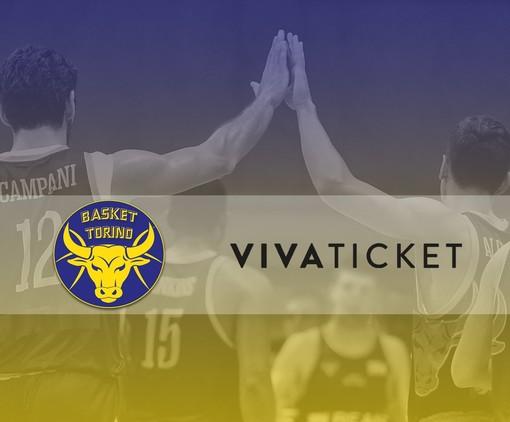"""""""Vivaticket"""" e """"Vivaevents"""" sono i nuovi Official Sponsor della Reale Mutua Basket Torino"""