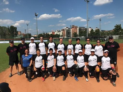 """Softball, """"Le Zie"""" vincono gli European Masters Games di Torino"""