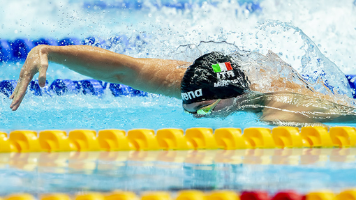 Campionati Europei in vasca corta, Alessandro Miressi a Glasgow