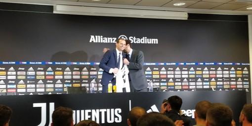 """Juve, Agnelli saluta Allegri: """"La decisione piú sofferta, Max ha fatto la storia"""""""