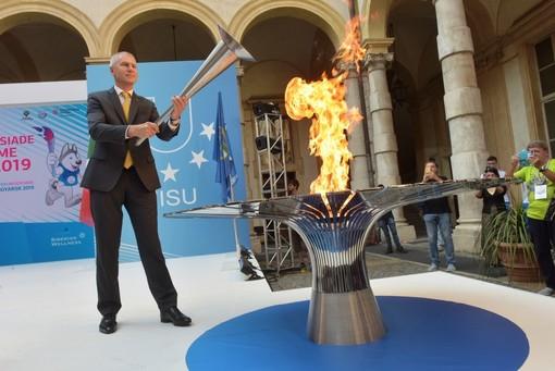 Accesa la Fiaccola del Sapere della 29esima Universiade Invernale di Krasnoyarsk