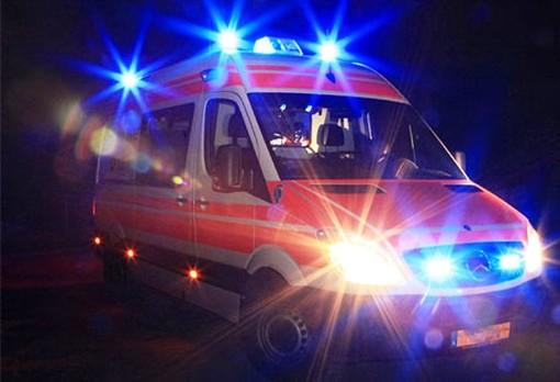 Carmagnola, anziano investito da una vettura: trasportato in gravi condizioni al Cto