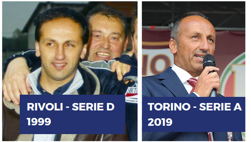 In 20 anni Bava dal dilettantismo al ruolo di ds del Torino in serie A
