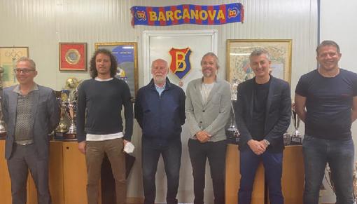 QUI BARCANOVA - Livio Manzin responsabile tecnico della Scuola Calcio