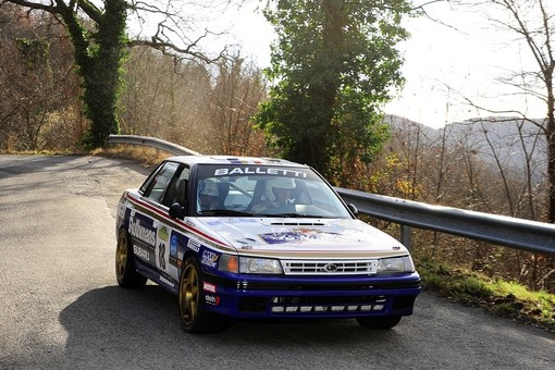 Balletti Motorsport: a Vesime con la Subaru