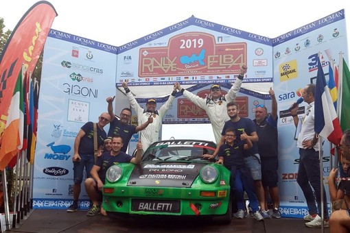 Balletti Motorsport: che bella vittoria all'Elba
