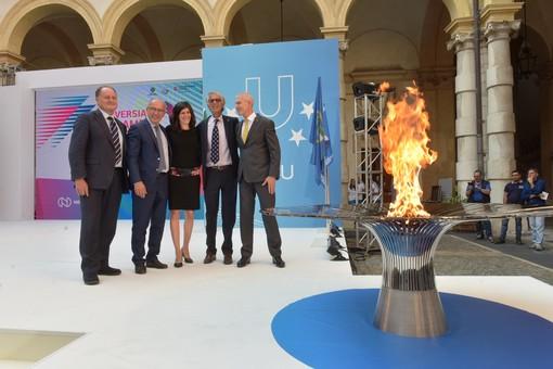 Universiade, parte il percorso della Torcia Olimpica
